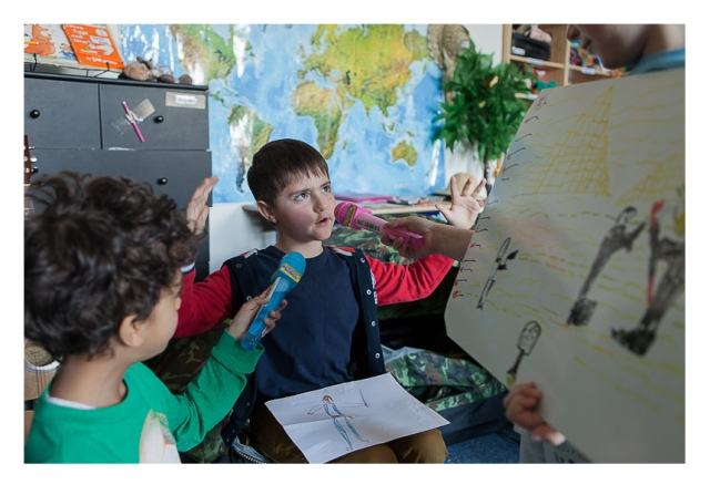 artwork-picture-interview-amongst-first-graders