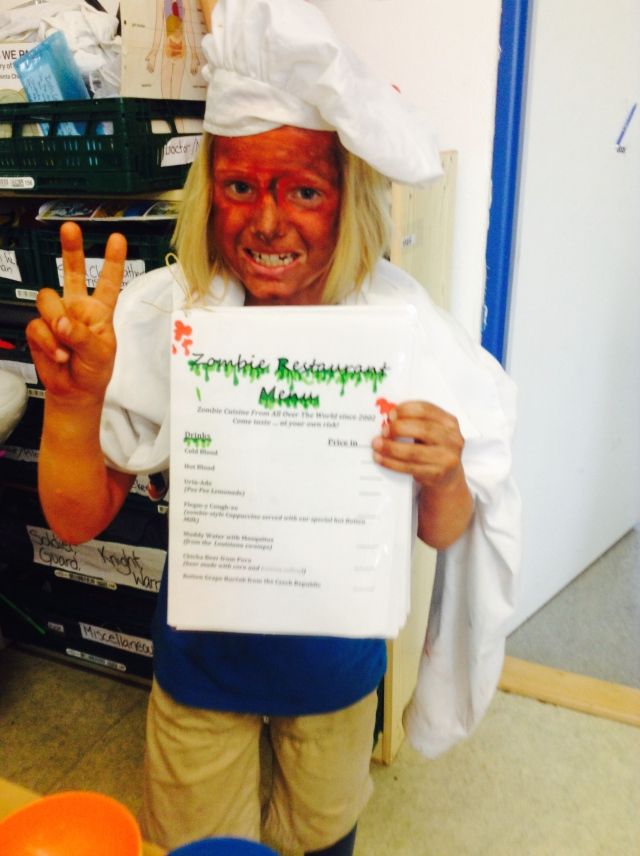 first-grader-as-zombie-chef-with-zombie-restaurant-menu-copy