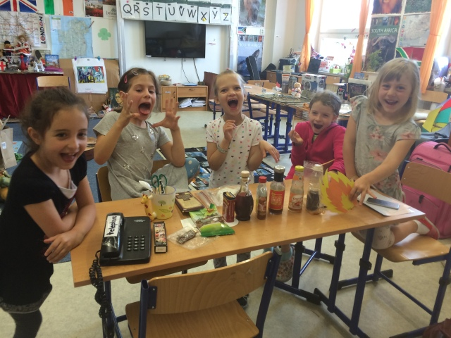 first-graders-and-taste-lesson-watching-me-eat-wasabi