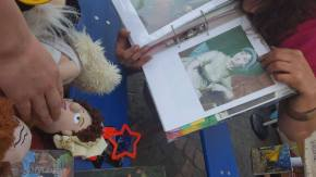 Jane Austen doll and Jane Austin photo - matching game