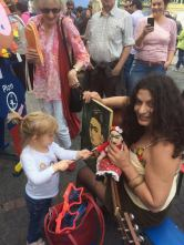 This child loved impersonating Frida Kahlo --